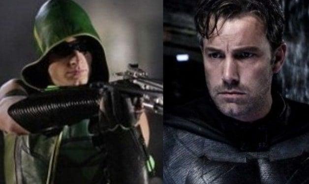 Smallville Justin Hartley Green Arrow Ben Affleck Batman