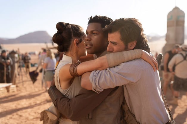 Star Wars Episode IX Rey Finn Poe Dameron
