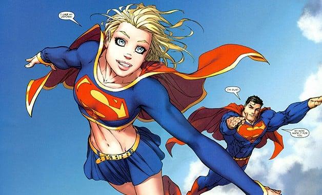 Supergirl Superman DC Films