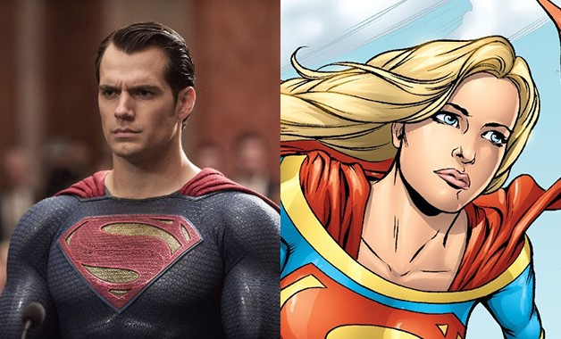Superman Henry Cavill Supergirl DC