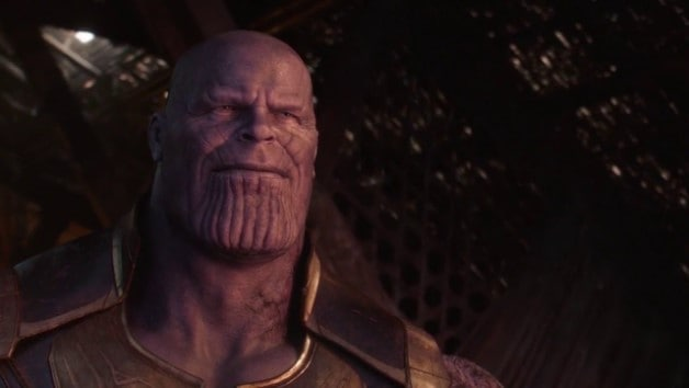 Thanos Avengers Smile Endgame Infinity War CinemaCon
