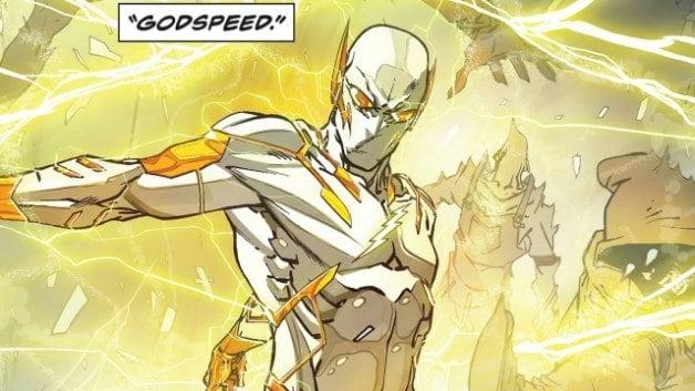 Grant Gustin The Flash Godspeed DC