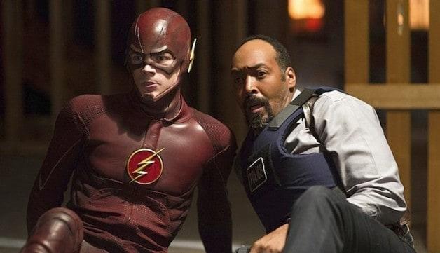 The Flash Eobard Thawne Tom Cavanagh The Flash Grant Gustin Barry Allen Detective Joe West