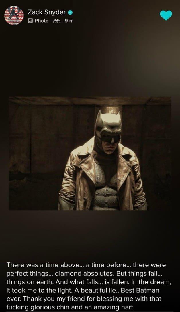 Vero Zack Snyder Batman Knightmare