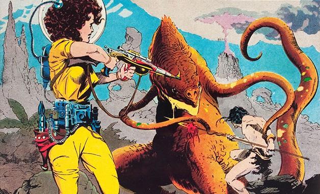 Weird Fantasy EC Comics Hivemind