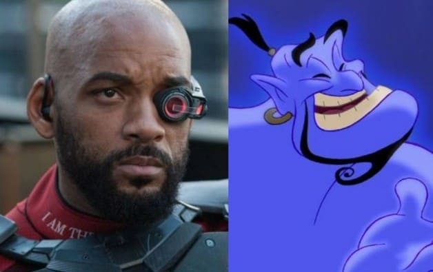 Will Smith Aladdin Genie Disney