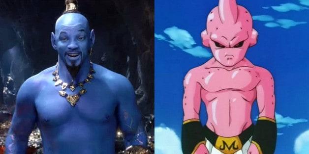 Aladdin Will Smith Dragon Ball Z