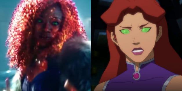 Anna Diop Titans Starfire