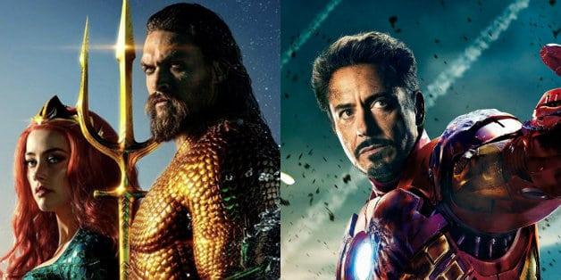 Aquaman Jason Momoa Robert Downey Jr Iron Man