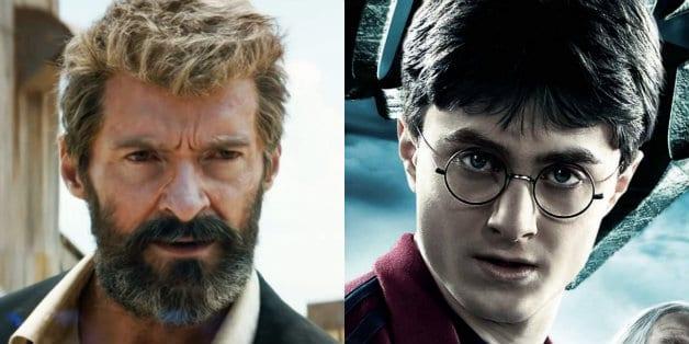 Hugh Jackman Daniel Radcliffe Wolverine Harry Potter