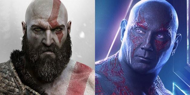 Dave Bautista God of War Kratos