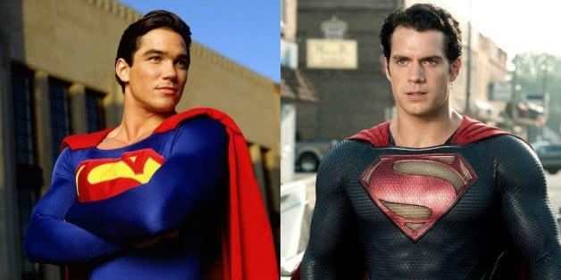 Henry Cavill Dean Cain Superman