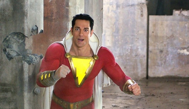 Shazam Zachary Levi Mark Strong Superman Fandango