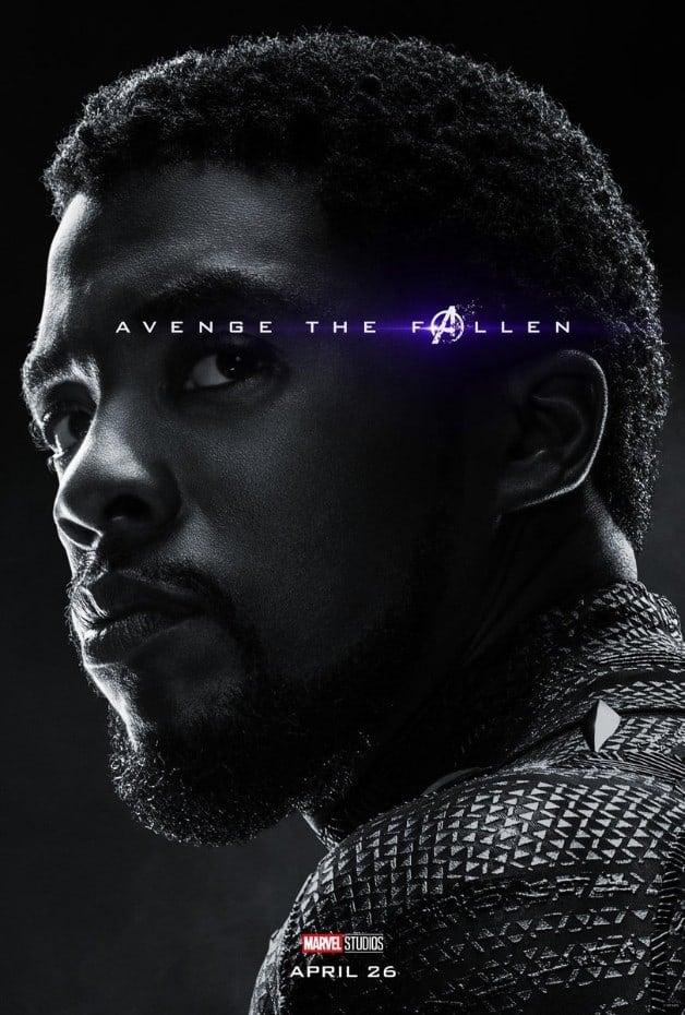 Avengers Endgame Black Panther Chadwick Boseman