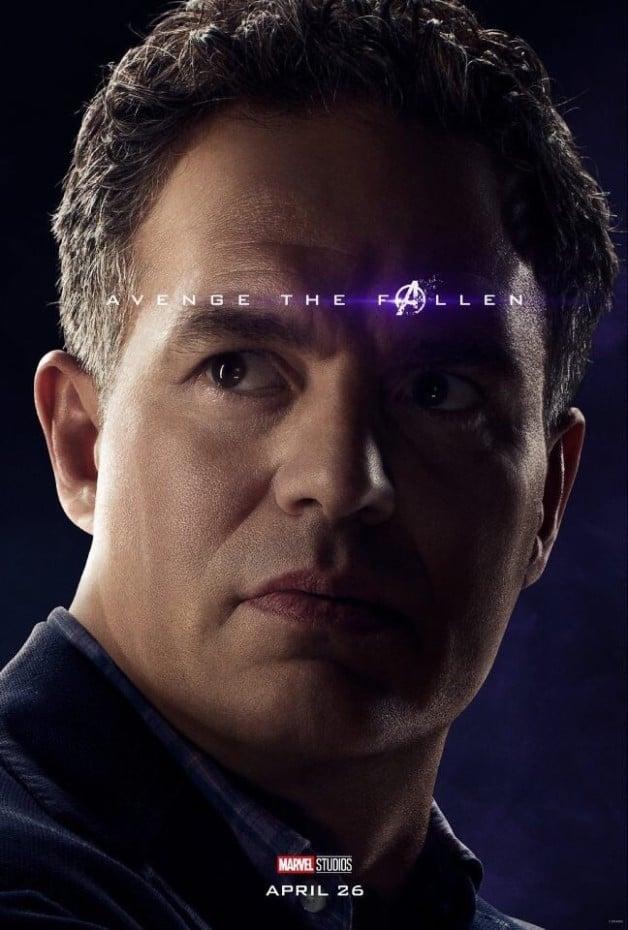 Avengers Endgame Bruce Banner Hulk Mark Ruffalo
