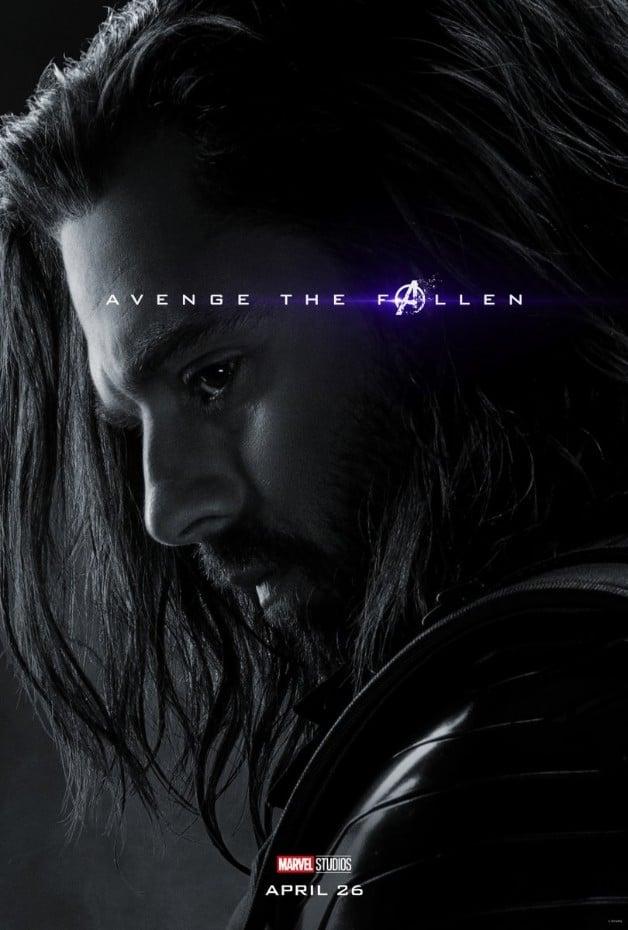 Avengers Endgame Bucky Barnes Sebastian Stan