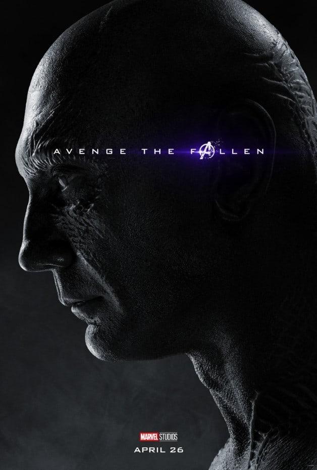 Avengers Endgame Drax Dave Bautista