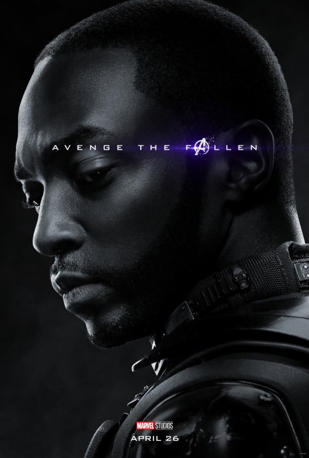 Avengers Endgame Falcon Anthony Mackie