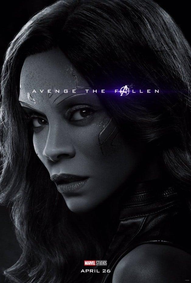 Avengers Endgame Gamora Zoe Saldana