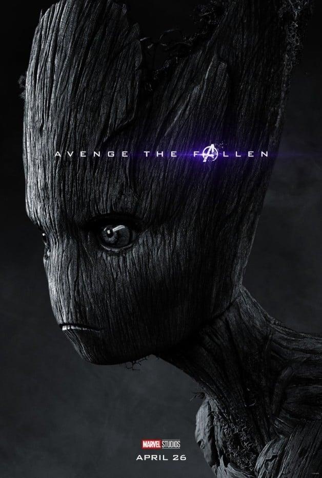 Avengers Endgame Groot