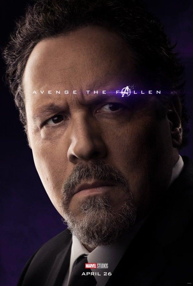 Avengers Endgame Happy Hogan Jon Favreau