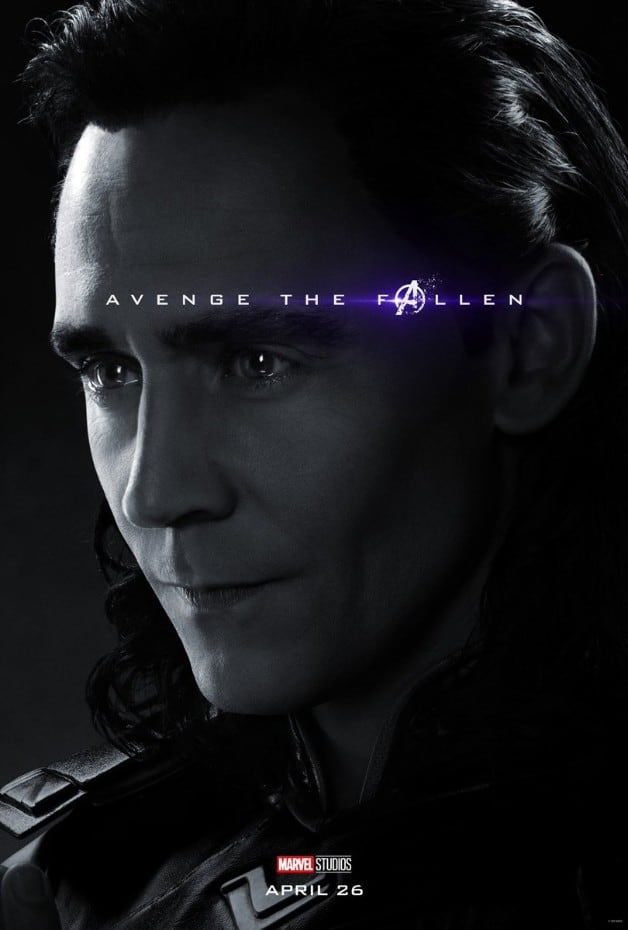 Avengers Endgame Loki Tom Hiddleston