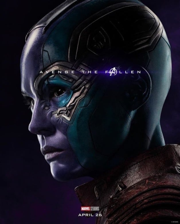 Avengers Endgame Nebula Karen Gillan