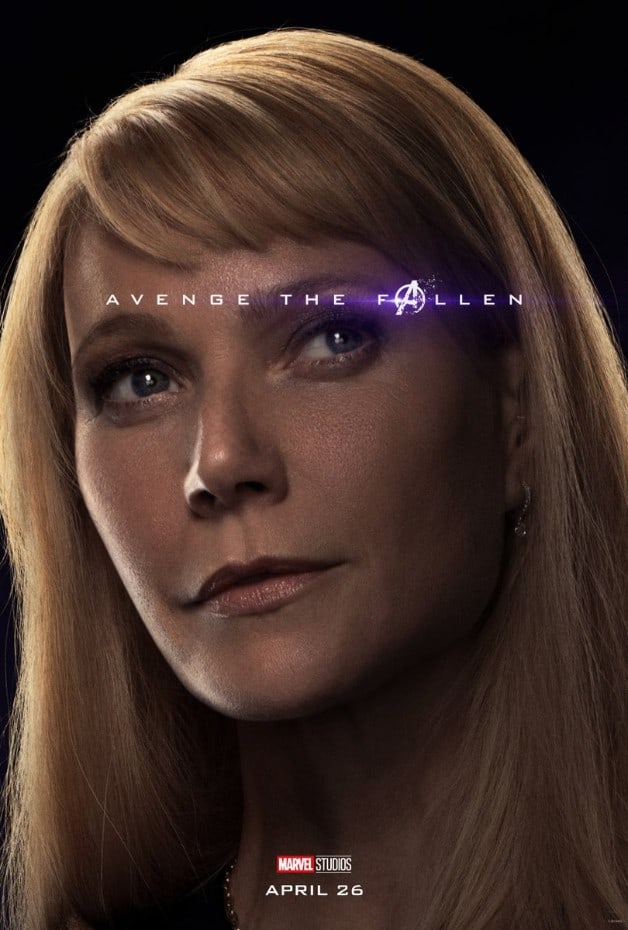 Avengers Endgame Pepper Potts Gwyneth Paltrow