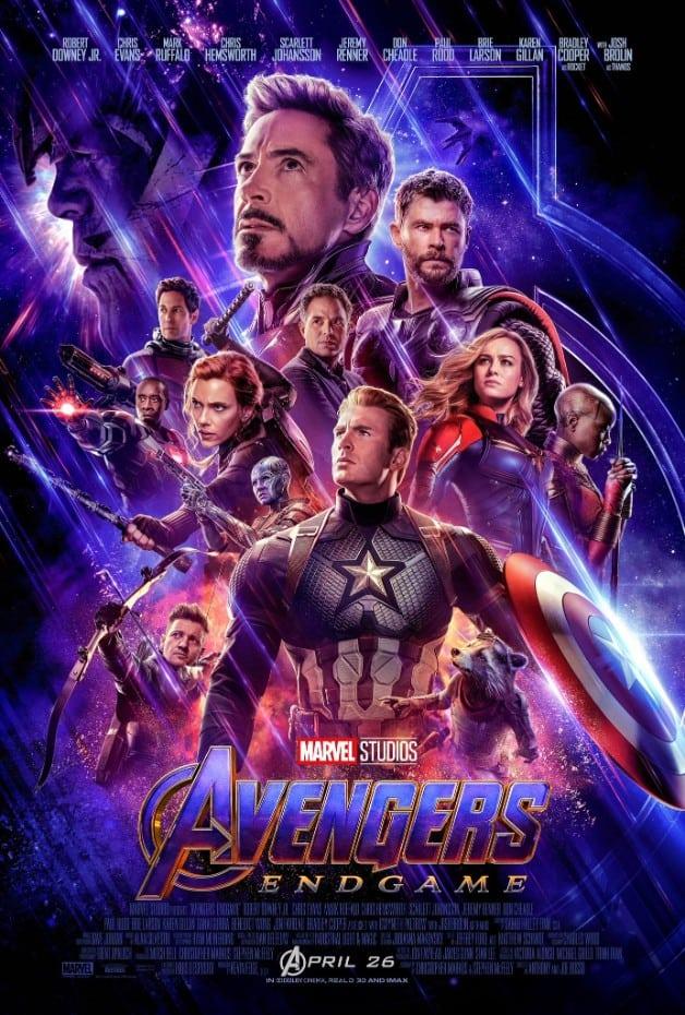 Avengers Endgame Poster Marvel