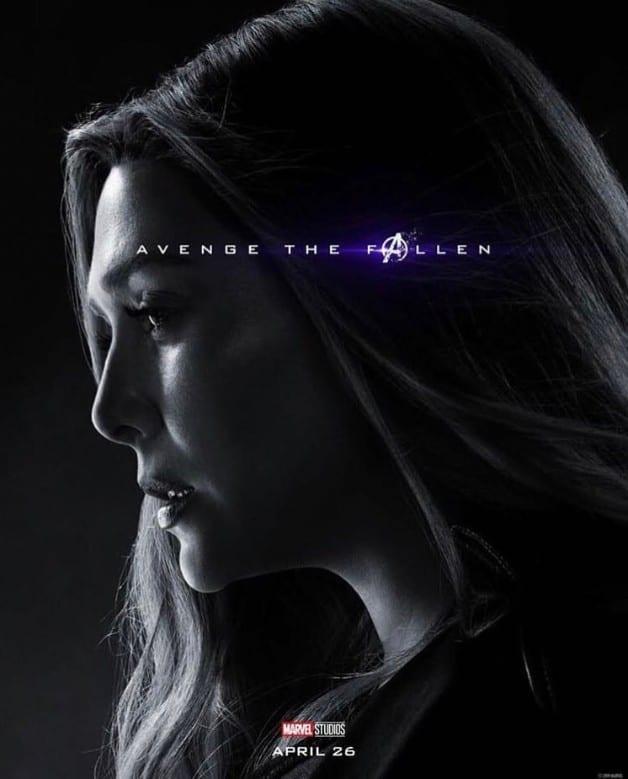 Avengers Endgame Scarlet Witch Elizabeth Olsen