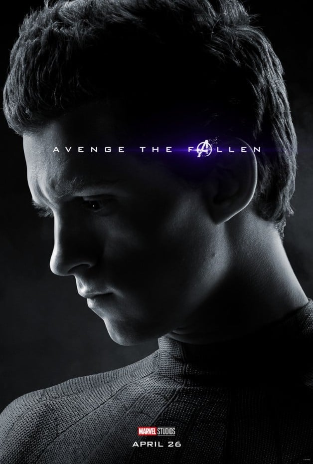 Avengers Endgame Spider-Man Tom Holland