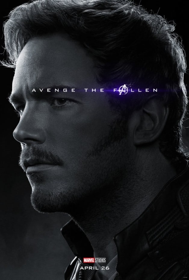 Avengers Endgame Star-Lord Chris Pratt