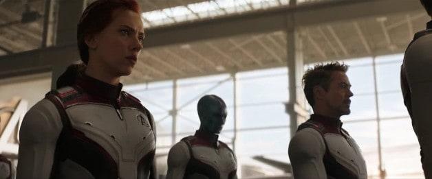 Avengers Endgame Tony Stark Iron Man Nebula Black Widow