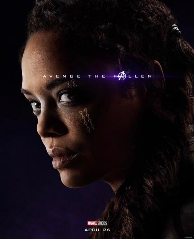 Avengers Endgame Valkyrie Tessa Thompson