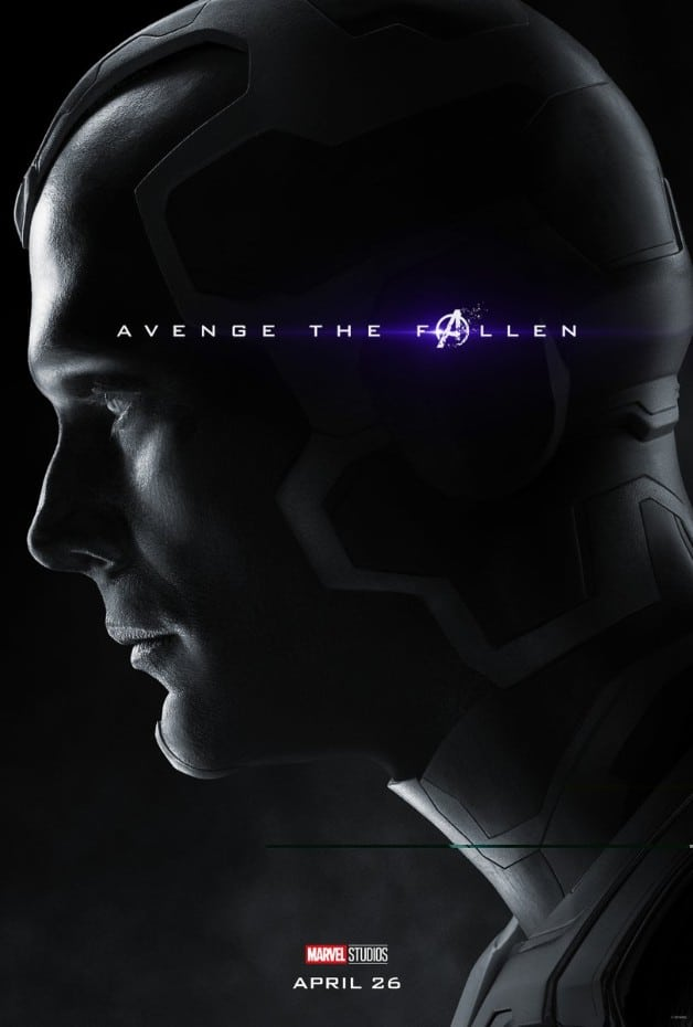 Avengers Endgame Vision Paul Bettany