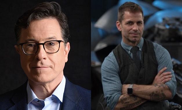 Batman Zack Snyder Stephen Colbert