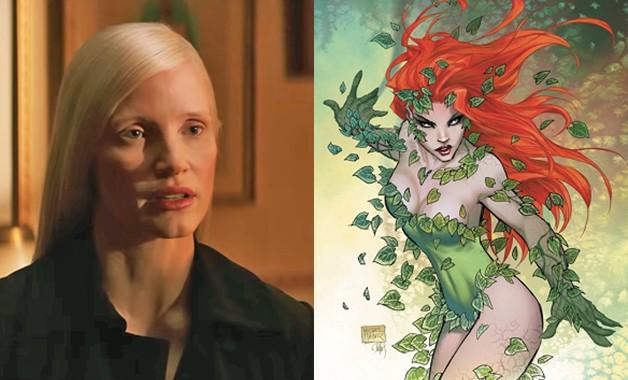Batman X-Men Jessica Chastain Poison Ivy