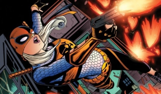 Chelsea Zhang Deathstroke Rose Wilson Slade Wilson Titans DC Universe