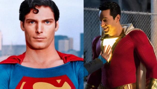 Christopher Reeve Superman John Williams Zachary Levi William Wallfisch Shazam