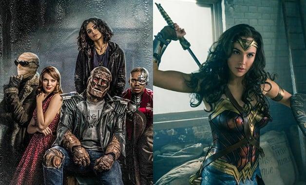 Doom Patrol DC Universe Gal Gadot Wonder Woman
