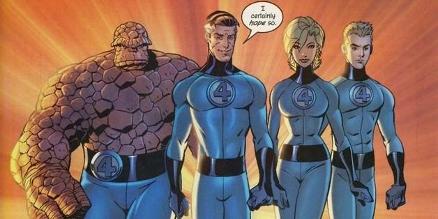 Fantastic Four Avengers Endgame Marvel