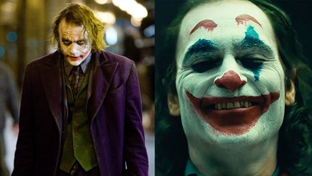 Heath Ledger Joker The Dark Knight Joaquin Phoenix Arthur Fleck