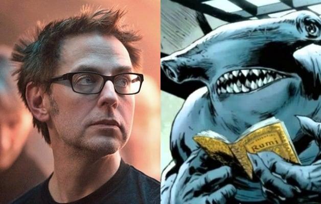 James Gunn Suicide Squad King Shark