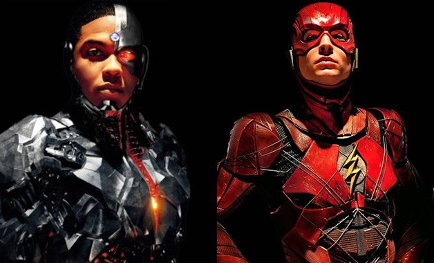 Justice League Flash Cyborg Madame Tussauds