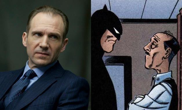 Ralph Fiennes Matt Reeves Batman