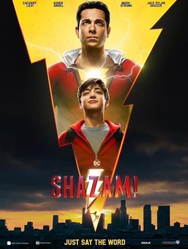 Shazam! Zachary Levi Asher Angel Billy Batson DC DCEU David F. Sandberg