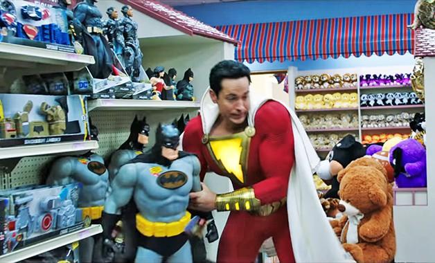 Asher Angel Shazam Batman Zachary Levi Voice Superman Ben Affleck
