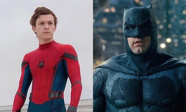 Spider-Man Batman Tom Holland Ben Affleck White House