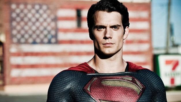 Superman Henry Cavill Christopher Reeve