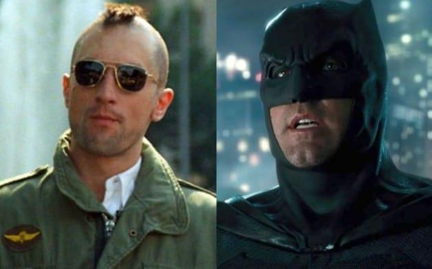 Taxi Driver Robert De Niro Batman Ben Affleck